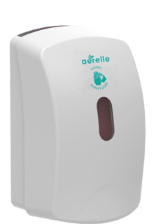 Dispenser for Foaming Sanitiser Pouches - Aerelle