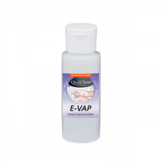 Hand Sanitiser Alcohol Gel Evap 60ml - Qualchem