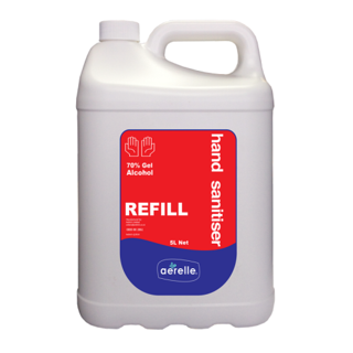 Alcohol based Hand Sanitiser - 5Litres - Aerelle