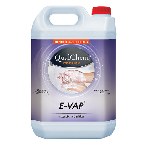Hand Sanitiser Alcohol Gel Evap - Qualchem